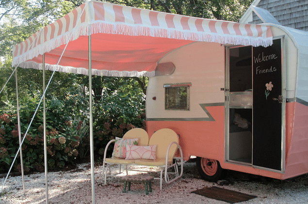 Romantisch Retro Caravanity Happy Campers Lifestyle