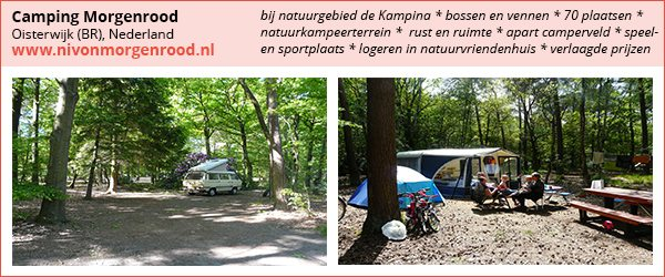 bijzondere camping, camping morgenrood, natuurcamping, camping oisterwijk
