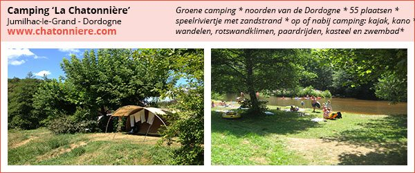 camping chatonniere, dordogne, kleine bijzondere camping, frankrijk