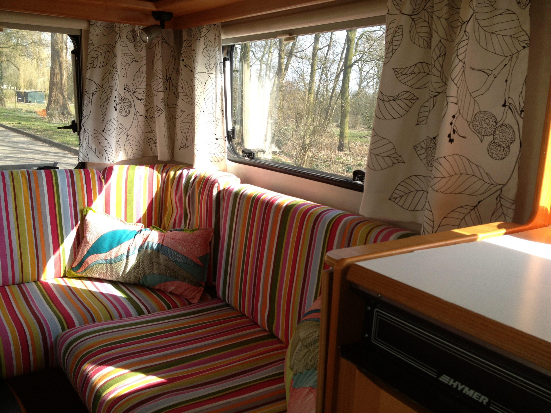Favoriete Gordijntje maken in vijf stappen - Caravanity | happy campers  HJ47