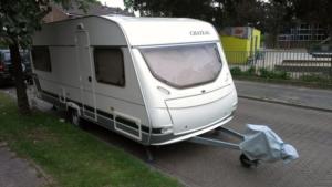 Caravan buiten 1