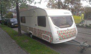 Caravan buiten 2 wrap