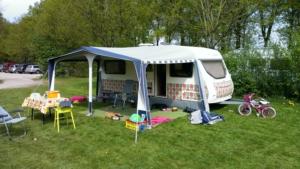 Caravan wrappen camping