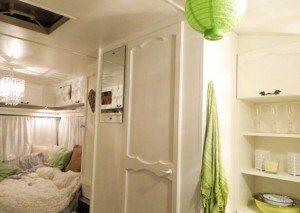 Caravan-Interior-Green-and-White