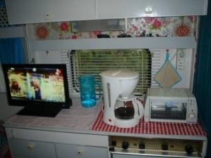 keukentje caravan