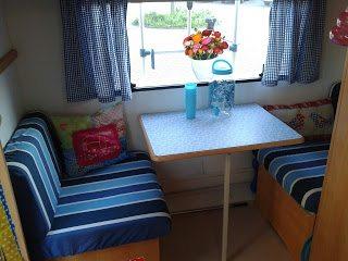 Caravan Kussens Bekleden : Easy does it bank bekleden caravanity happy campers lifestyle