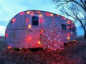 kerst caravan