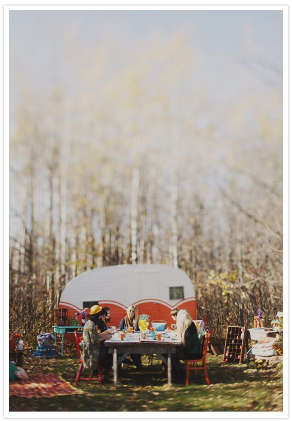 Vrijgezellen camping