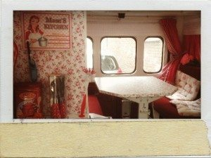 Interieur retro camper