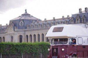Retro Camper Parijs