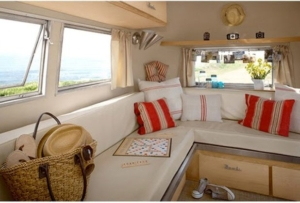 airstream beach interior