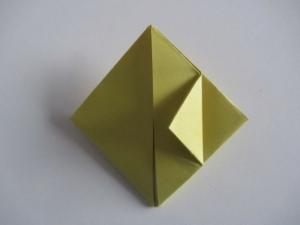 origami waterballon vouwen 10