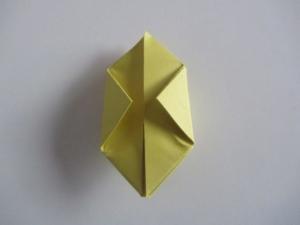 origami waterballon vouwen 11