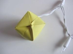 origami waterballon vouwen 26