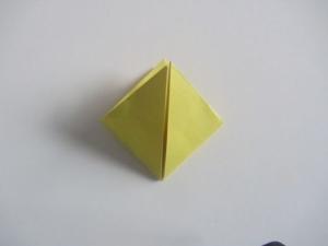 origami waterballon vouwen 8