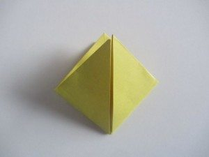 origami waterballon vouwen 9