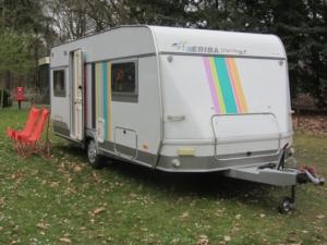buitenkant caravan masking tape 14