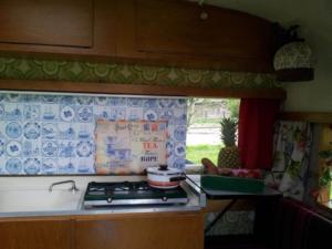 Tante Toos keukenblad open
