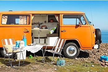 volkswagen T2, camper, busje
