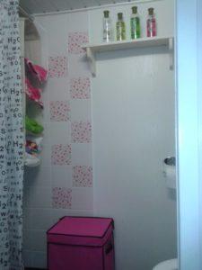 badkamer stacaravan