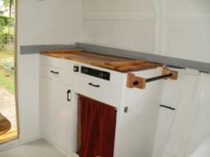 keuken in pipowagen maken