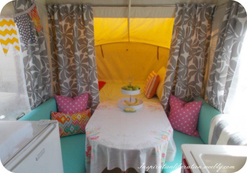 Kleine Slaapkamer Pimpen : Pop Up Camper Makeover
