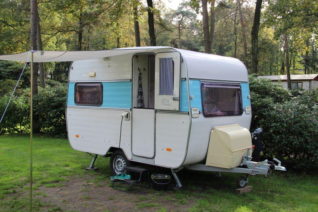 Kip caravan camping
