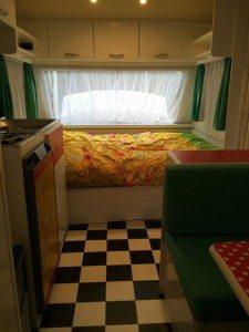 nieuwe vloer caravan