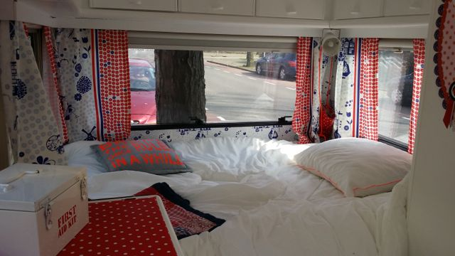 caravanbed | hollands thema | caravanity