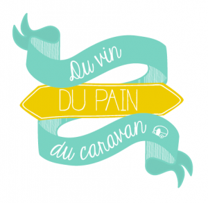 Sticker - Du vin du pain du caravan