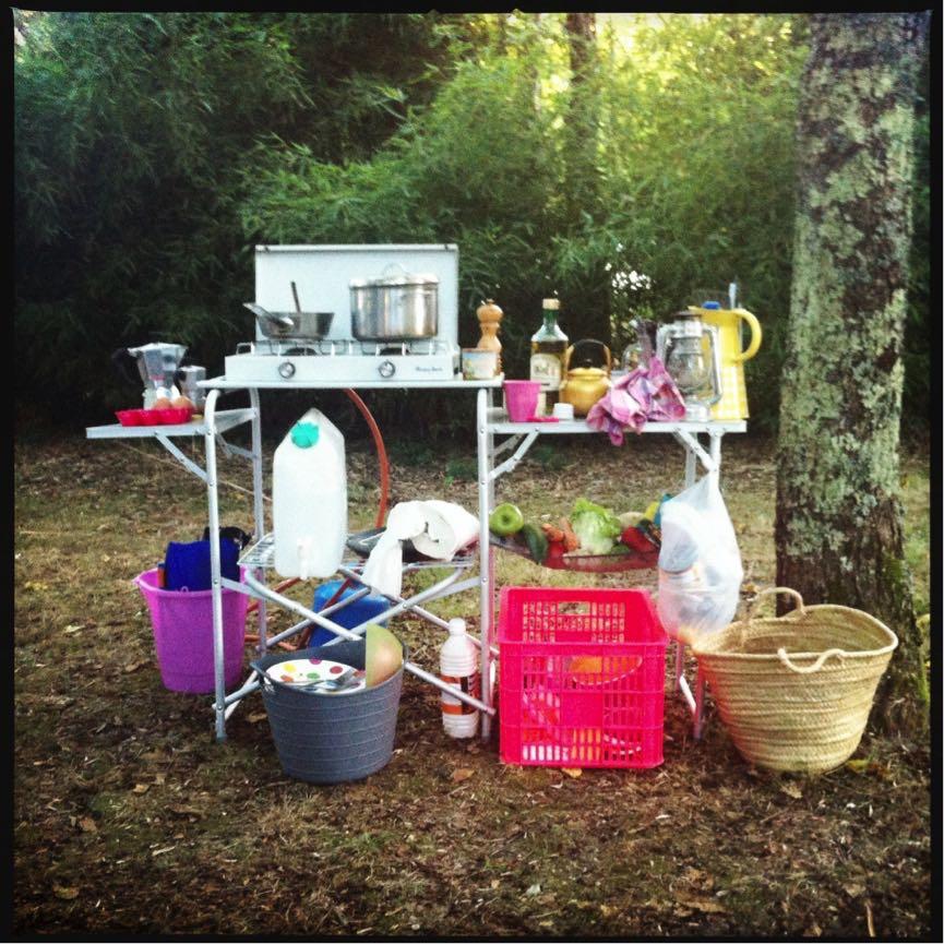 Campingkeukentje