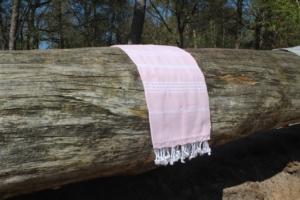 Licht roze Hamamdoeken | Caravanity