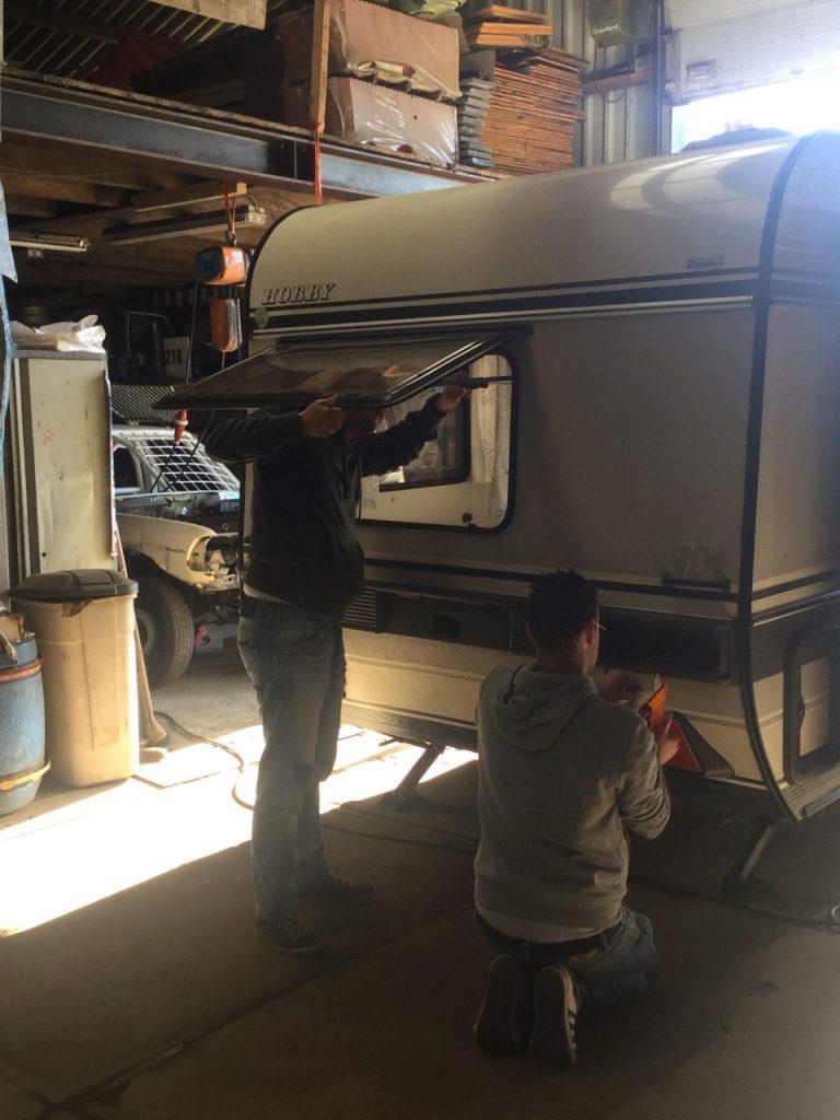 Caravan spuiten | Caravanity2