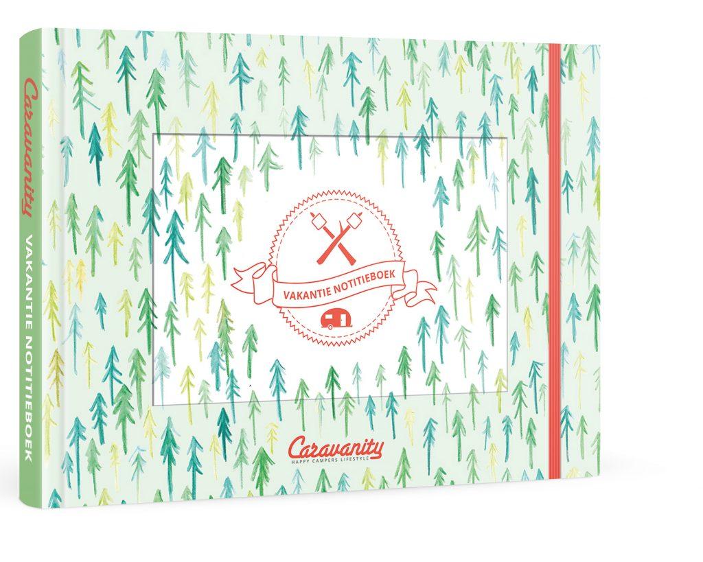 Caravanity notitieboek_3d omslag